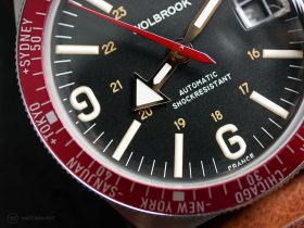 Wolbrook Skindiver WT Automatic Red dial