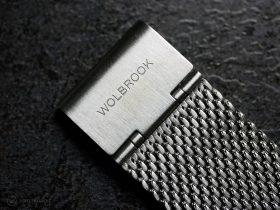 Wolbrook Skindiver WT Automatic Milanaise bracelet clasp