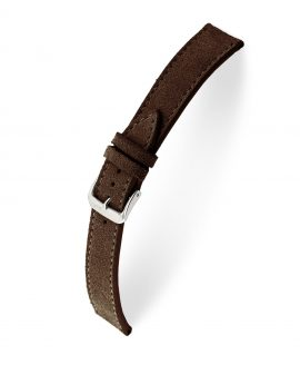 RIOS1931 Franklin Suede Watch Strap Mocha 15207 Watchbandit