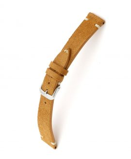 RIOS1931 Hudson Suede Watch Strap Cognac 15506 Watchbandit