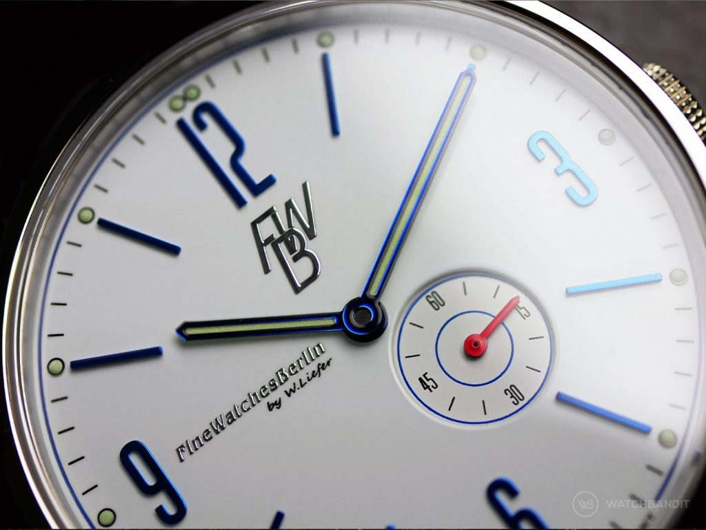 Fine Watches Berlin_Teufelsberg_#2_dial close up