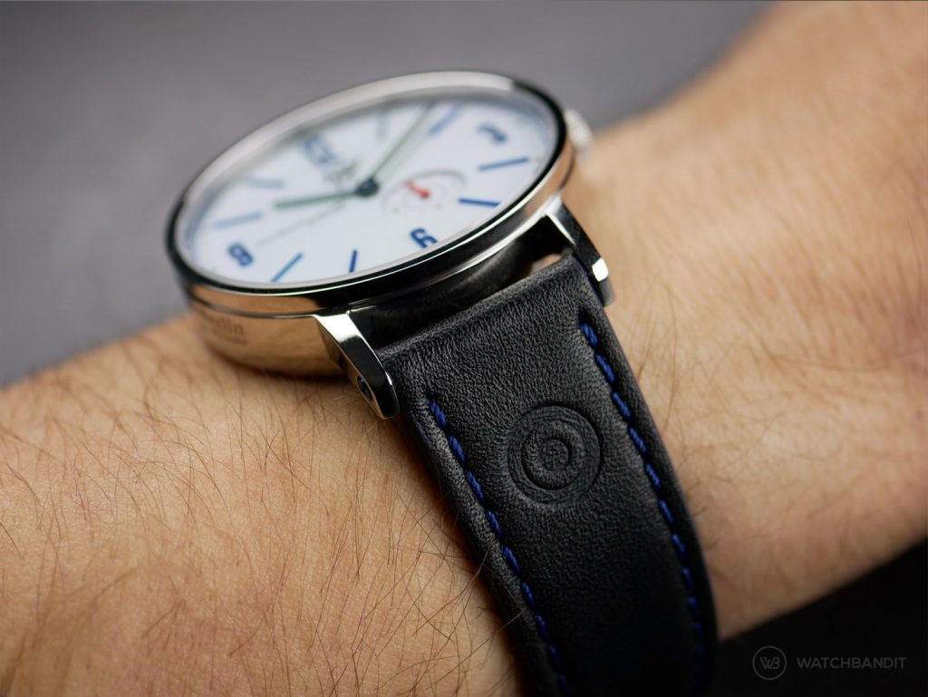 Fine Watches Berlin_Teufelsberg_#2_wristshot_leather strap