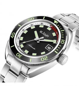 LeJour Hammerhead dive watch HH-001 side case