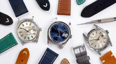 Rolex Datejust 36 leather Strap Guide collection