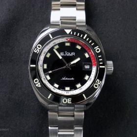 LeJour Hammerhead LJ-HH-001 black dial black bezel