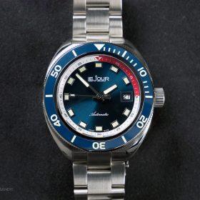 LeJour Hammerhead LJ-HH-002 blue dial blue bezel