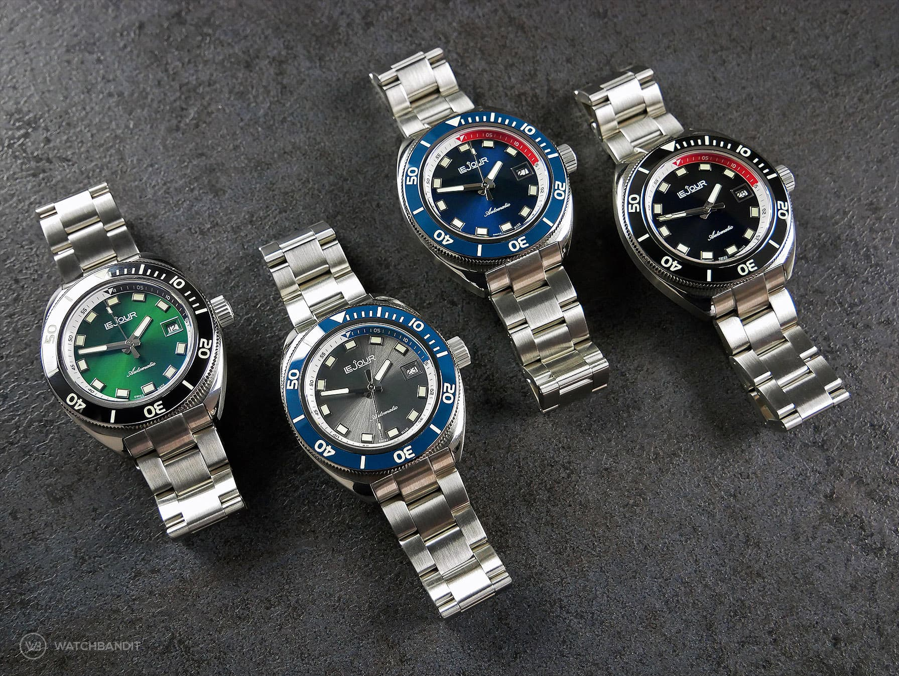 Le Jour Hammerhead collection watchbandit