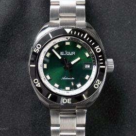 LeJour Hammerhead LJ-HH-004 green dial black bezel
