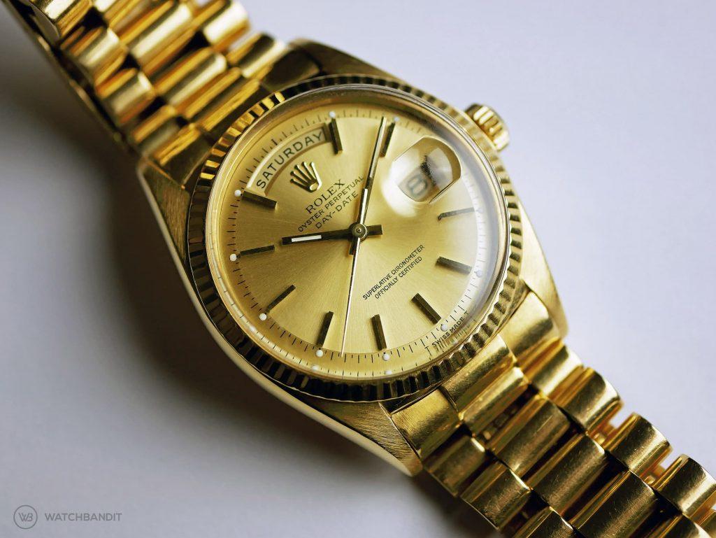 Rolex Day-Date ref. 1803 full gold