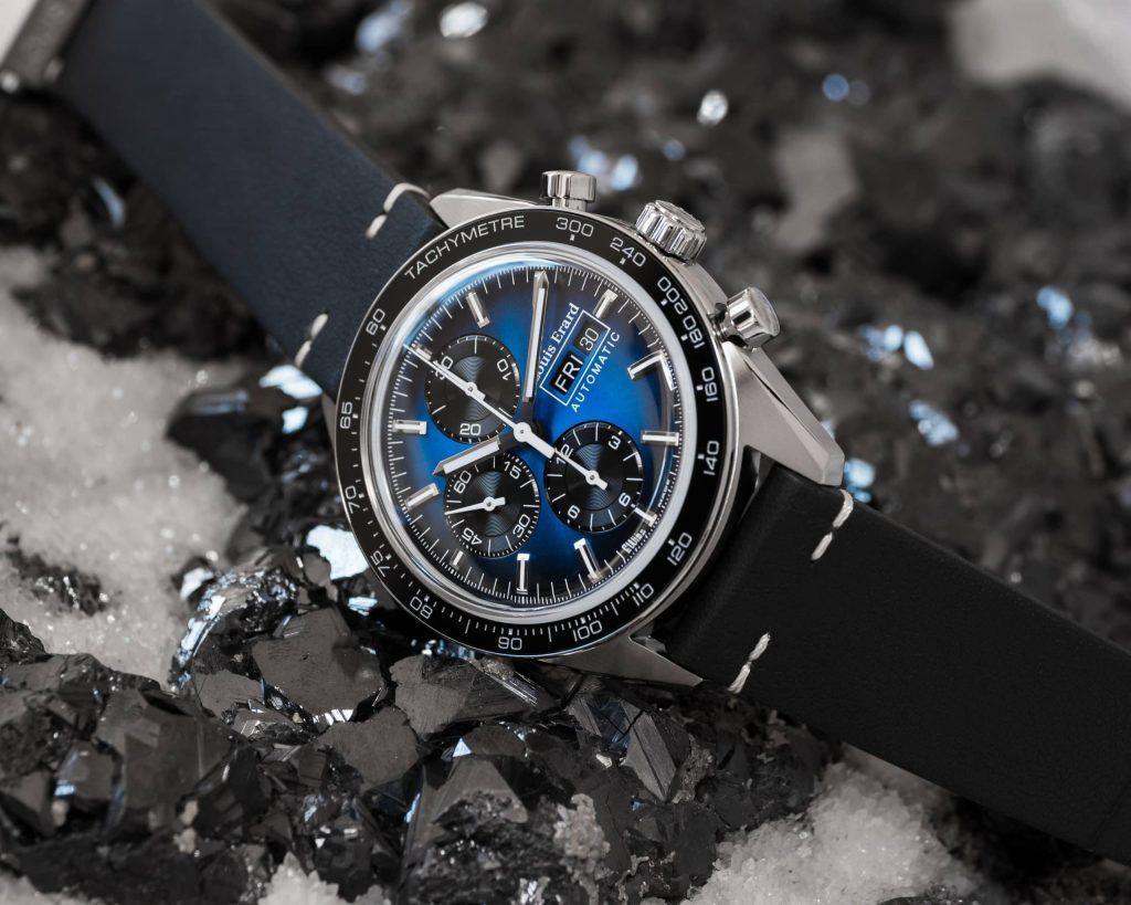 Louis Erard La Sportive Limited Edition Titanium Blue dial