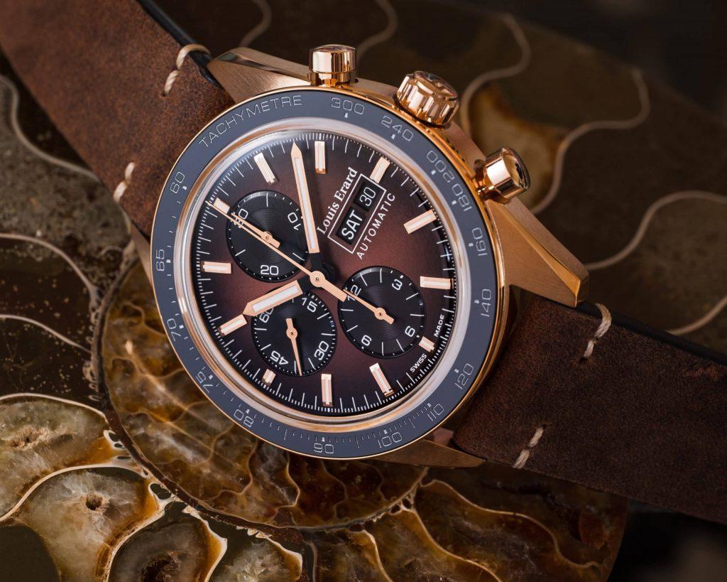 Louis Erard La Sportive Limited Edition Titanium Bronze