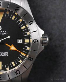 Steinhart Ocean Vintage GMT half watch