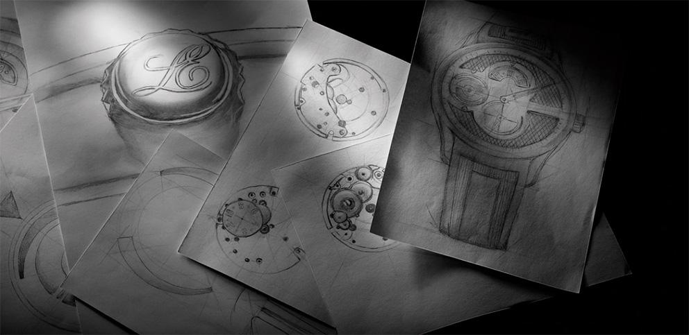 watchmaking sketches louis erard