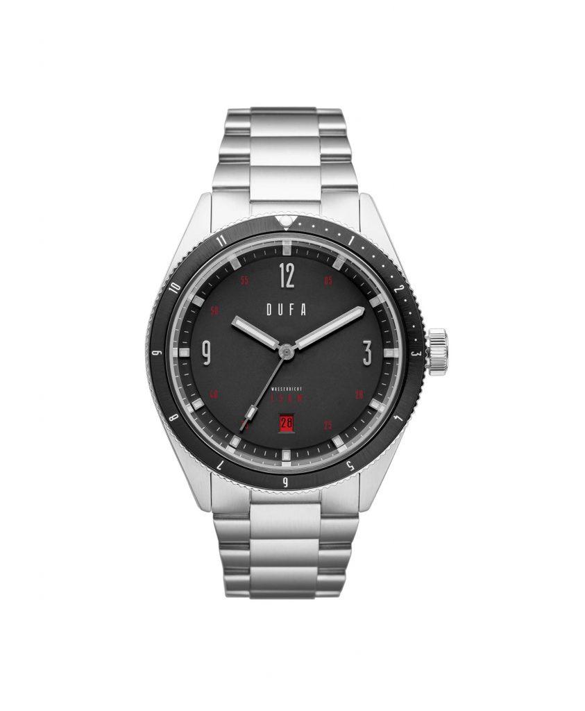 DuFa - Freitaucher Automatic - Graphite Black dial