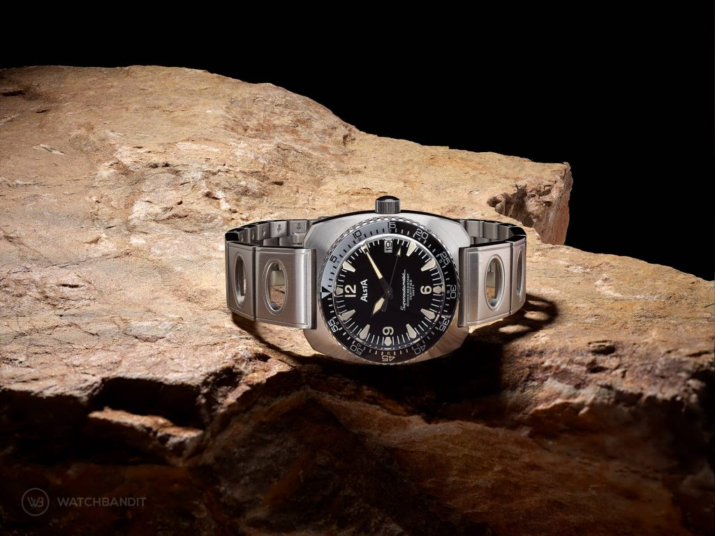 Alsta Nautoscaph Superautomatic on the rocks Mood picture