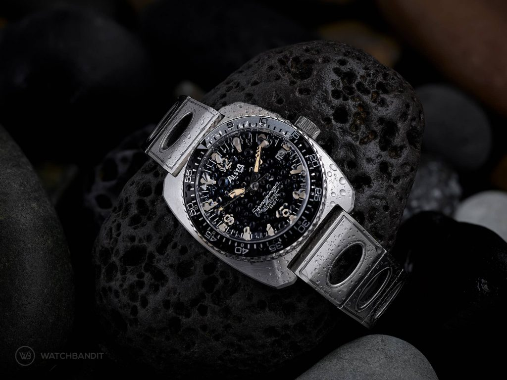 Alsta Nautoscaph Superautomatic wet sparkled watch Mood picture