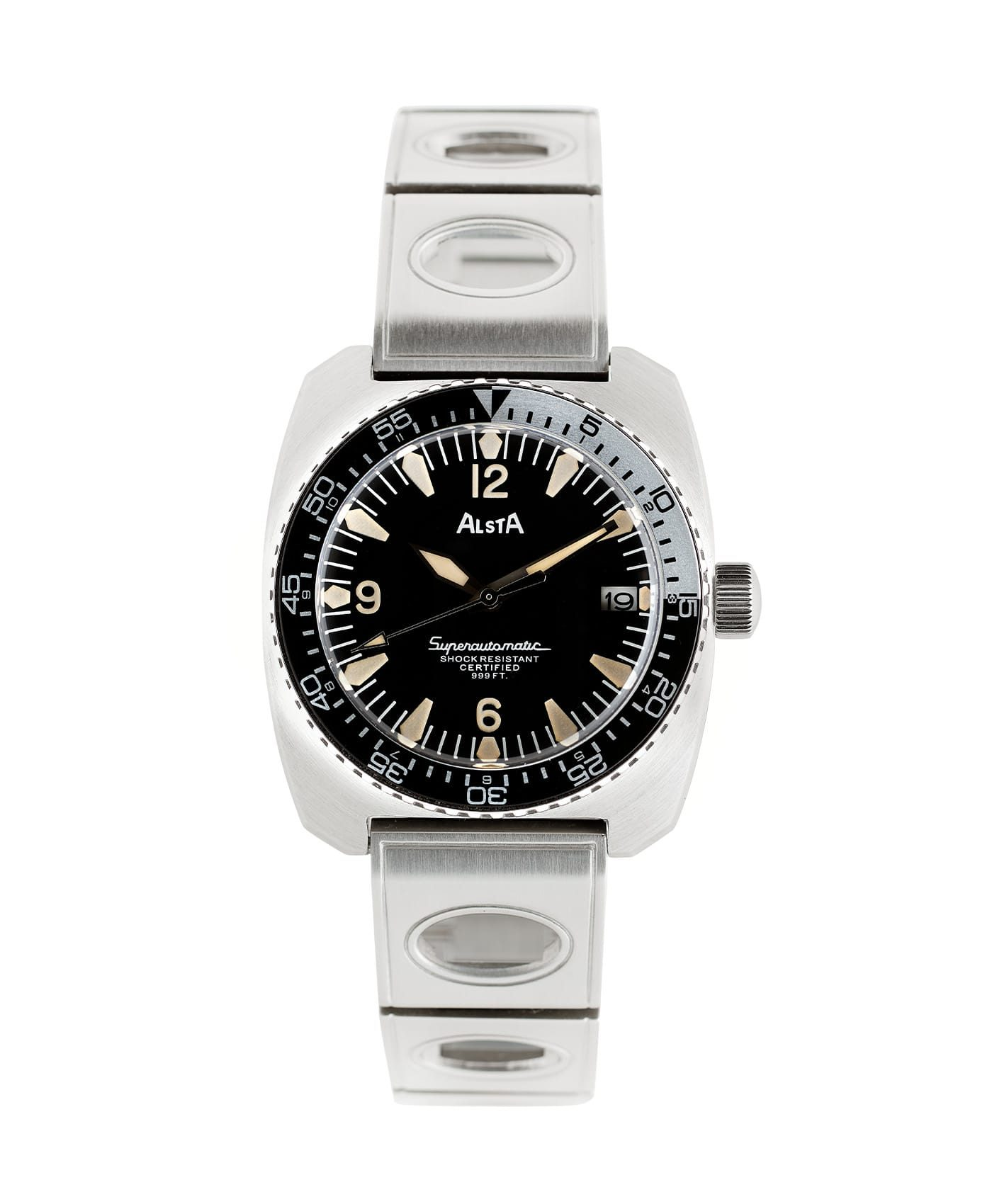 Alsta Watch Nautoscaph Superautomatic Front
