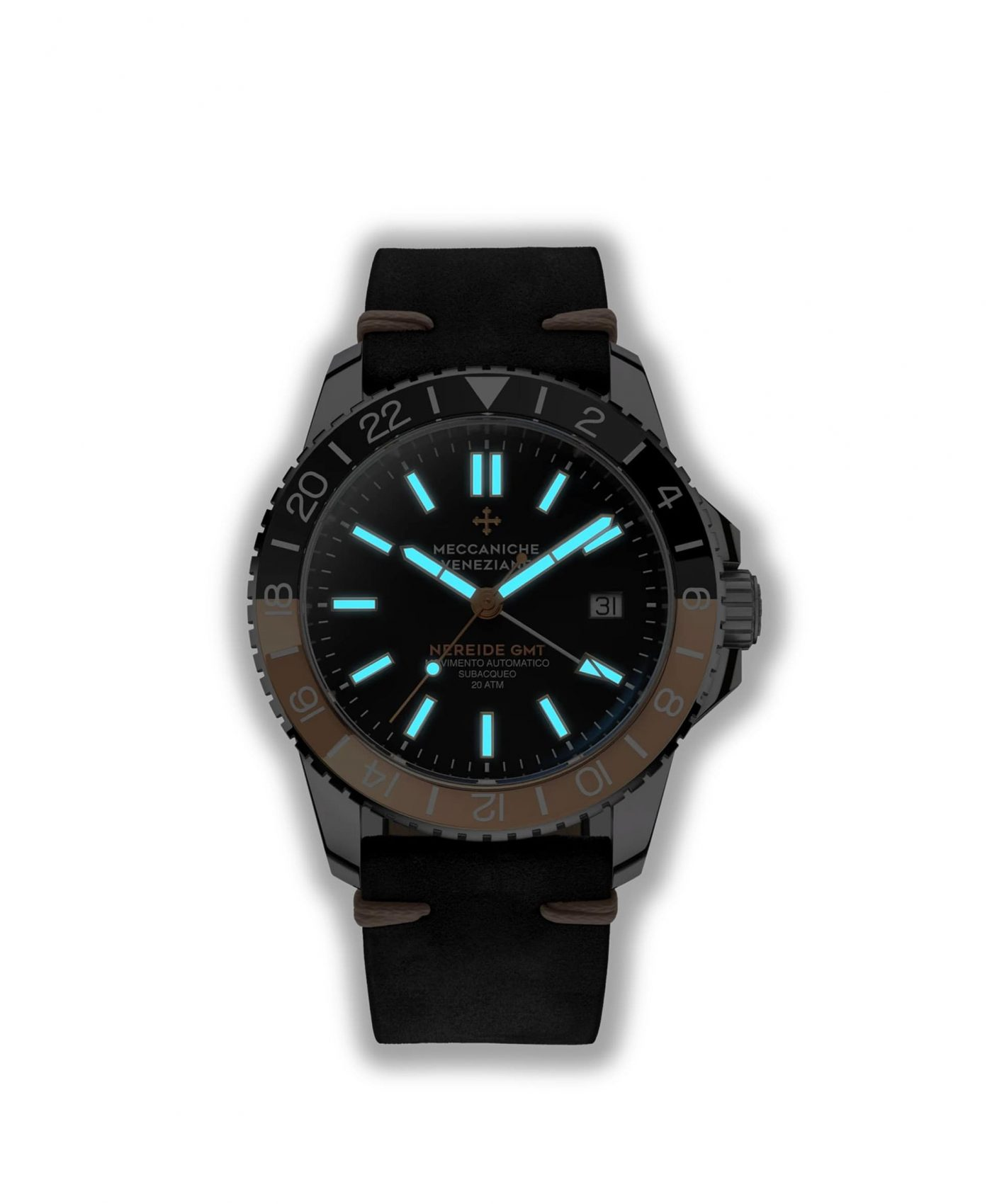 NEREIDE GMT Ø42MM - 1305007 lume