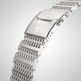 Meccaniche Veneziane adriatico stainless steel bracelet