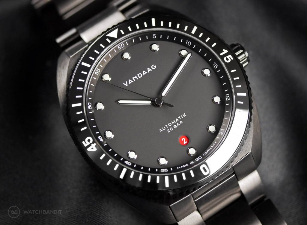 VANDAAG Tiefsee deep sea Automatic dial black PVD