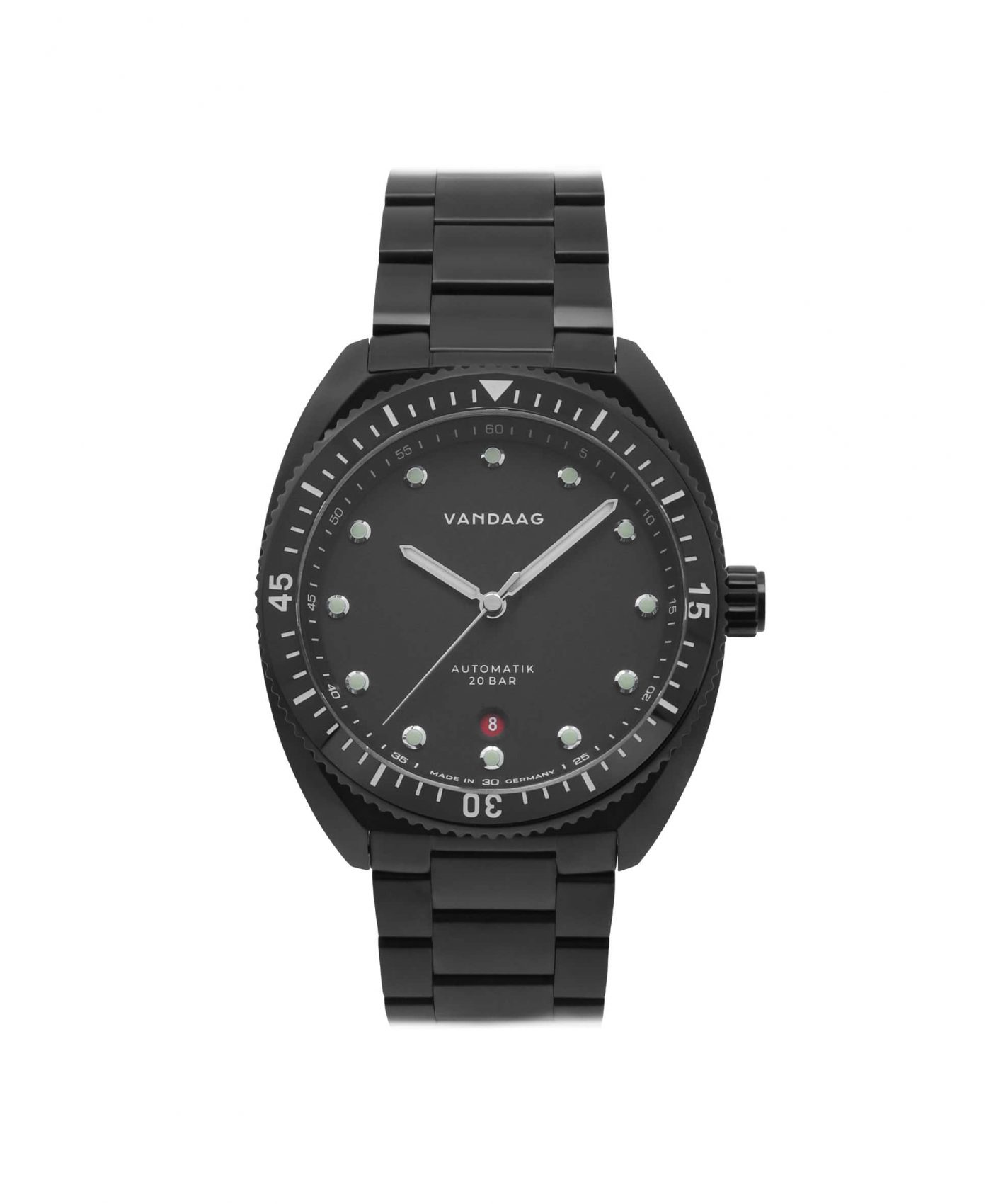 Vandaag Tiefsee Automatic Black pvd front