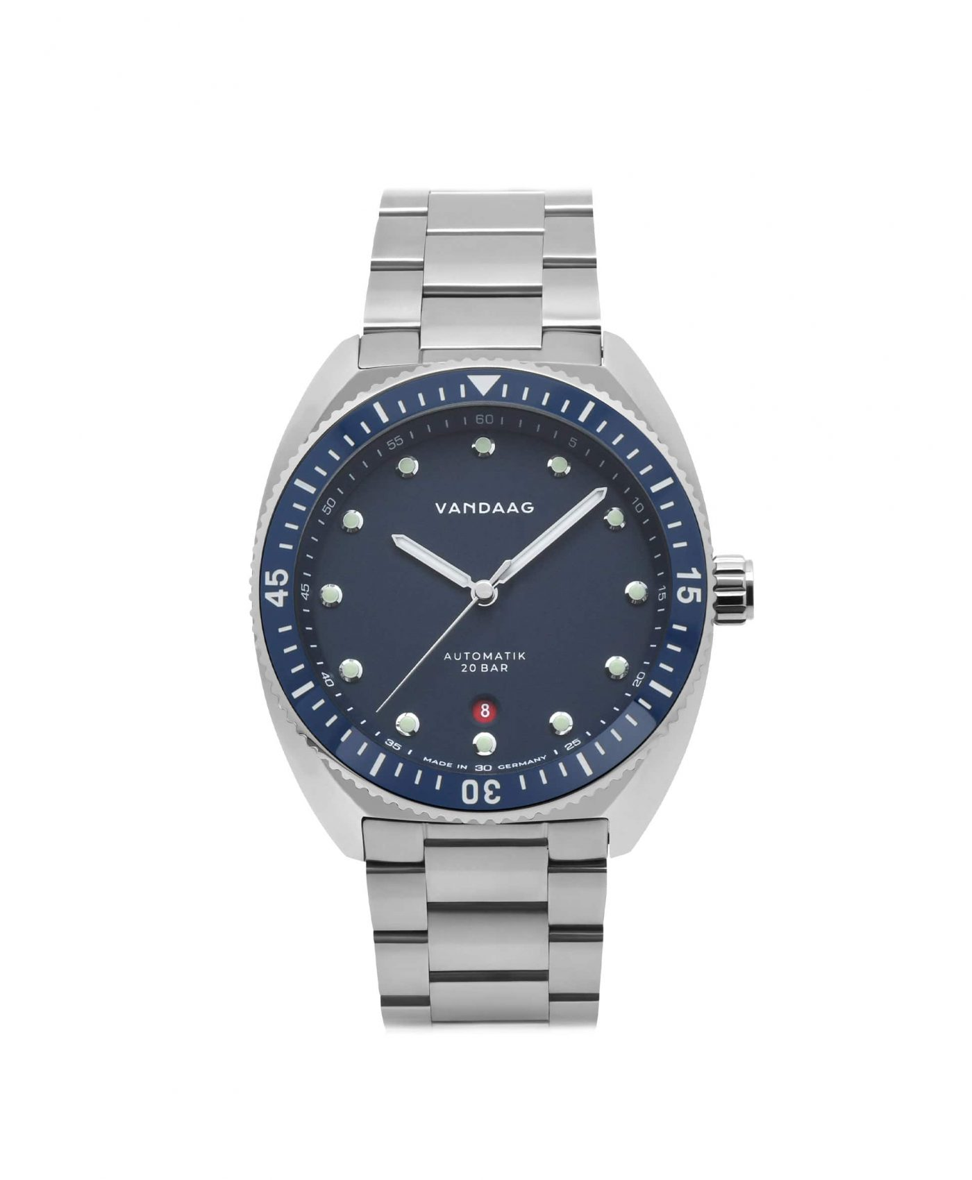 Vandaag Tiefsee Automatic Blue front