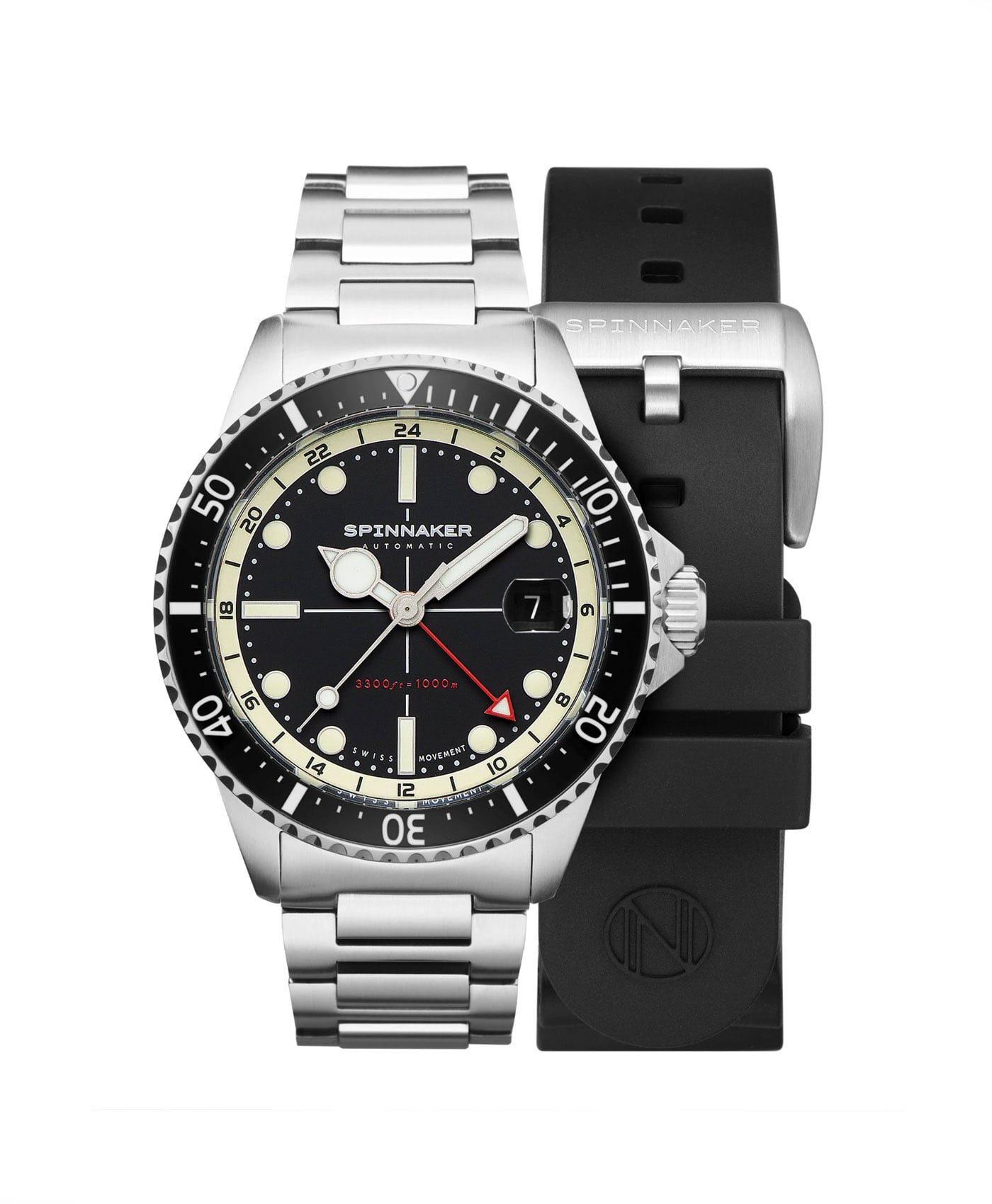 Spinnaker Tesei Mille Metri GMT - Midnight Black SP-5091-11