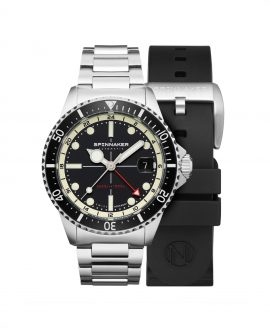 Spinnaker Tesei Mille Metri GMT - Midnight Black SP-5091-11