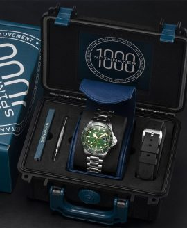 Spinnaker Tesei Mille Metri - Hunter Green SP-5090-33 Box