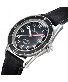 Squale SUB-39 MON black dial side