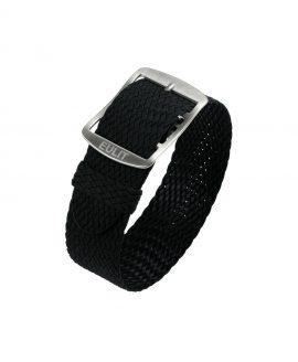 Eulit Baltic Perlon Watch Strap_Black