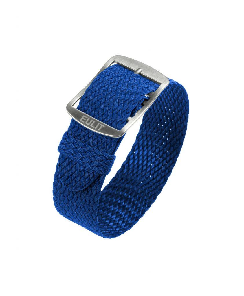 Eulit Baltic Perlon Watch Strap_Blue