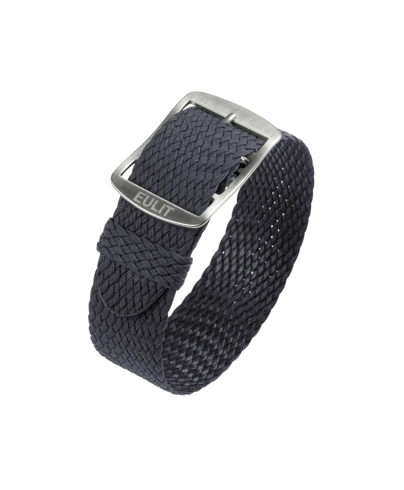 Eulit Baltic Perlon Watch Strap_Grey