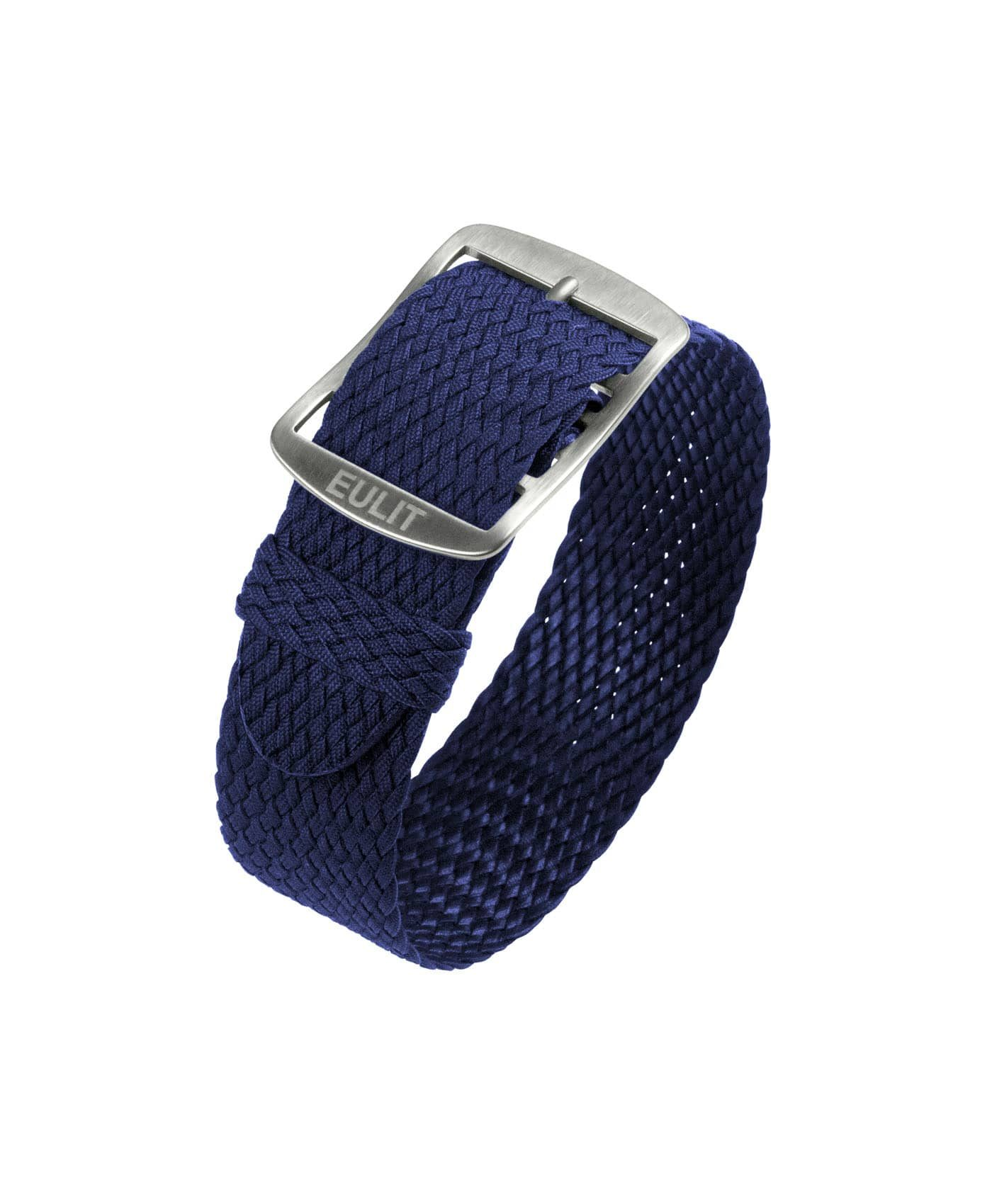 Eulit Baltic Perlon Watch Strap_Navy blue