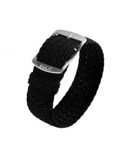 Eulit Perlon Watch Strap_Black