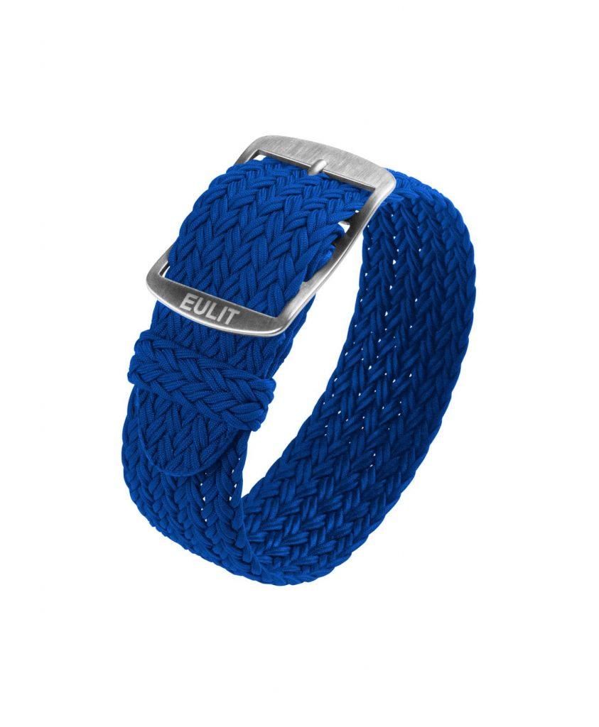 Eulit Perlon Watch Strap_Blue