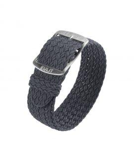 Eulit Perlon Watch Strap_Grey