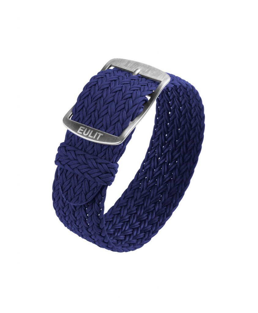 Eulit Perlon Watch Strap_Navy Blue