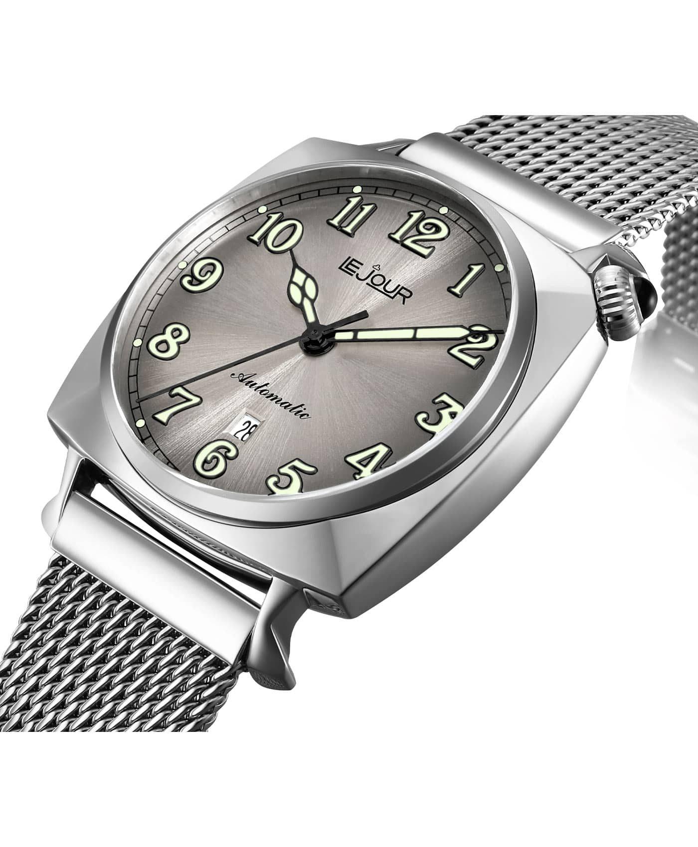 LJ-HR-003 silver sunray dial pillow case