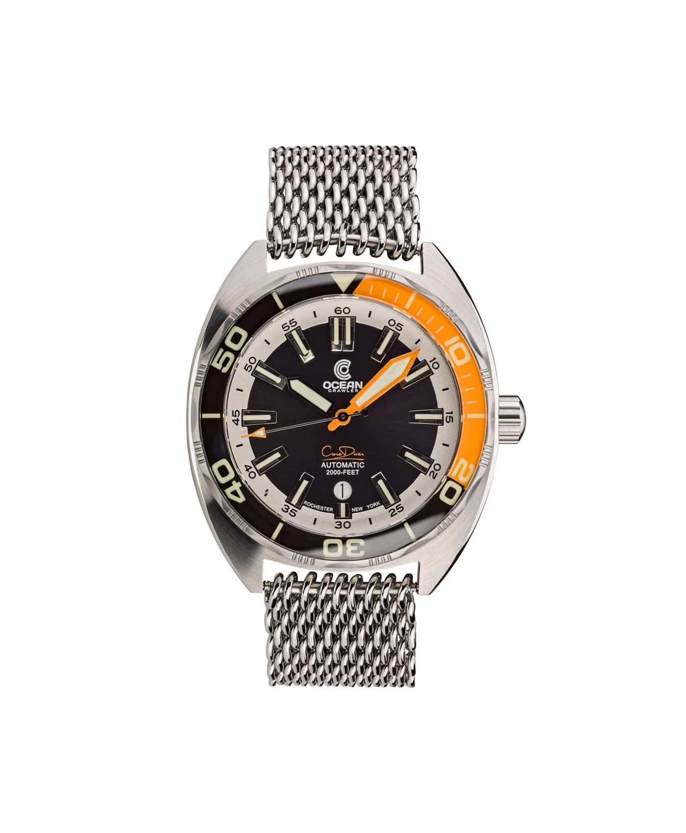 Ocean Crawler Core Diver Black Orange v3