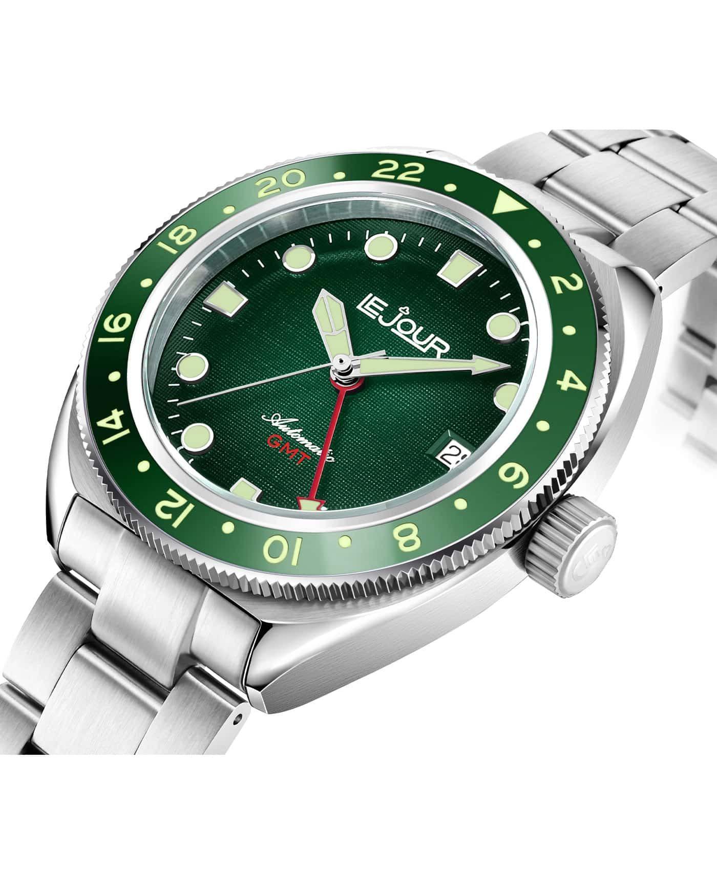 LJ-HH-GMT-003 textured green case side