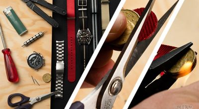 How to shorten and customize a NATO strap featured picture