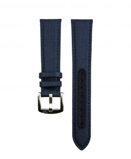 Premium Sailcloth watch strap dark blue WB Original front