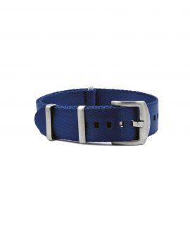 Premium_Nato-straps brushed_dark blue_front