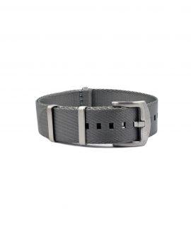 Premium_Nato-straps brushed_grey_front