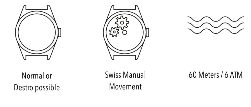 Subdelta Watches Technical info