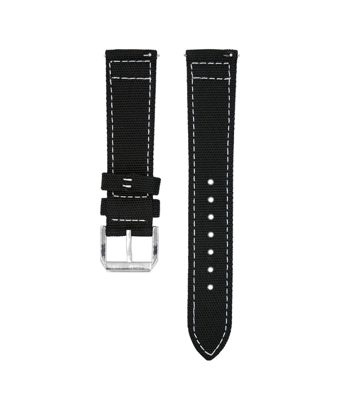 Wristporn Sailcloth Watch strap black-back