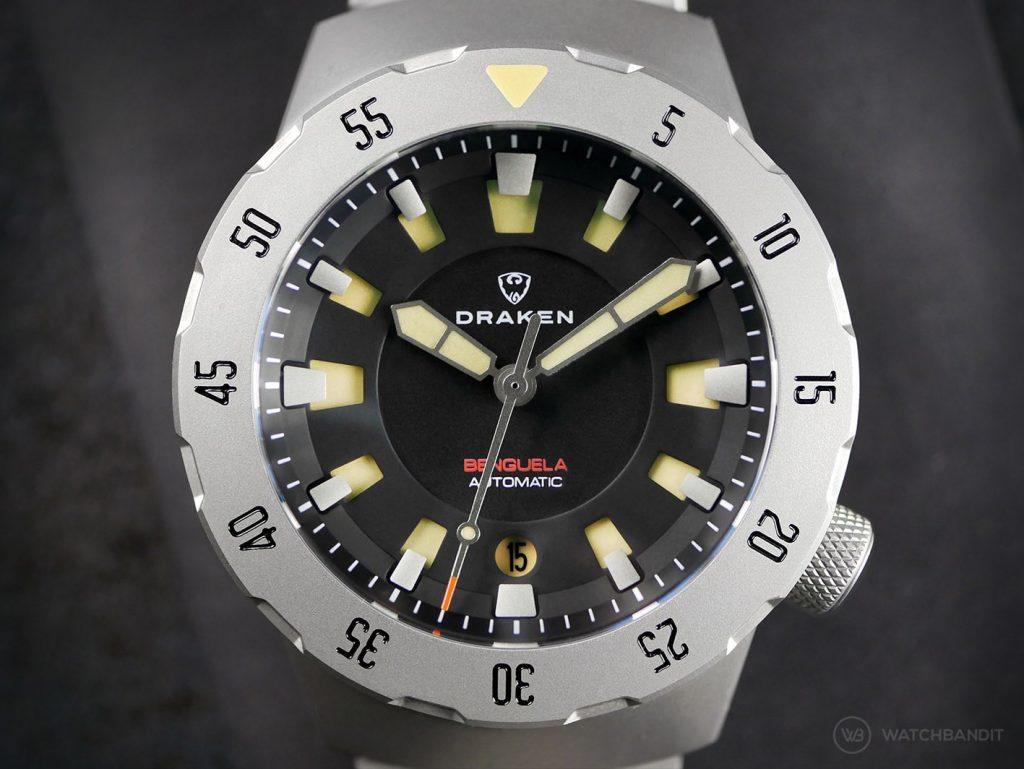 Draken Bengula Watch - Black Dial