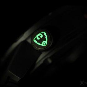 Draken Bengula Watch - Crown lume