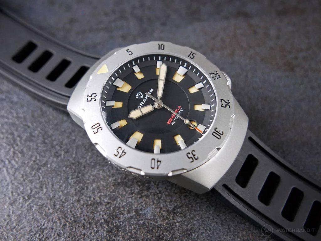 Draken Bengula Watch - Rubber strap